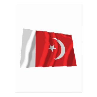 Umm bandera que agita del al-Quwain Postal