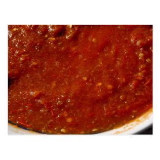 UMM postal de la salsa
