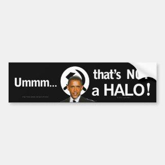 Umm que no es pegatina para el parachoques del HAL Pegatina Para Auto