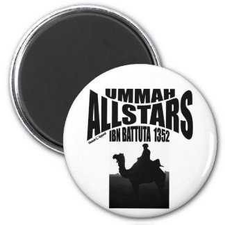 Umma Allstars Ibn Battuta 2 Inch Round Magnet