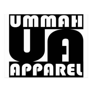Umma Apparel Block Postcard