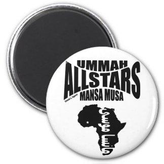 Ummah Allstars Mansa Musa 2 Inch Round Magnet