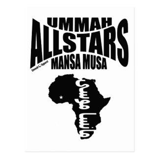 Ummah Allstars Mansa Musa Postcard