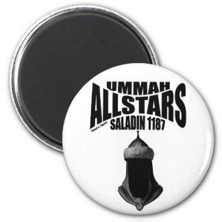 Ummah Allstars Saladin 2 Inch Round Magnet
