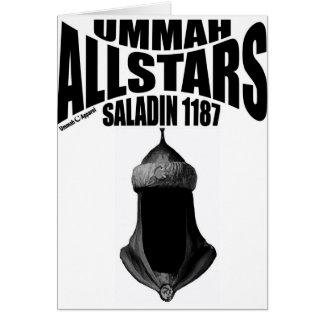 Ummah Allstars Saladin Greeting Card