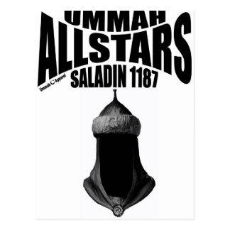 Ummah Allstars Saladin Postcard