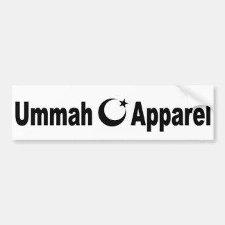 Ummah Apparel Car Bumper Sticker