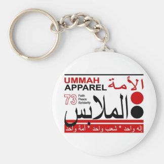 Ummah Apparel Faith Peace Solidarity Keychain
