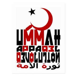 Ummah Apparel Revolution Postcard