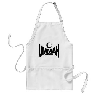 Ummah Apparel Star & Crescent Adult Apron