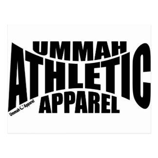 Ummah Athletic Apparel Postcard