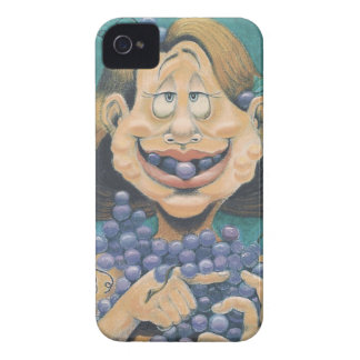 Ummmm Grapes iPhone 4 Case
