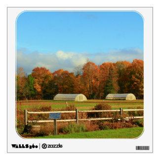 UMO Rogers Farm Autumn Scenery 2015 Wall Decal