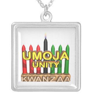 Umoja Square Pendant Necklace