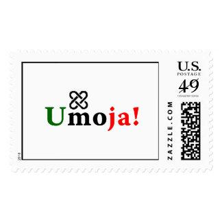 ¡Umoja! - Unidad… Kwanzaa Sellos