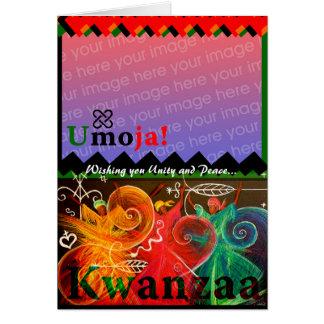 Umoja! - Unity... Kwanzaa Greeting Card
