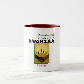 UMOJA - Unity Two-Tone Coffee Mug