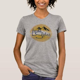 UMOL LypheStyles Logo Mountains Women's T-Shirt