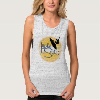UMOL LypheStyles Logo Surfer Women's Tank Top Tee