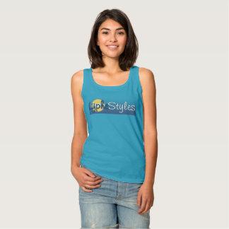 UMOL LypheStyles Sun Logo Womens Basic Tank Top