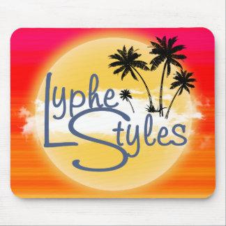 UMOL LypheStyles Sun Sunset Palm Trees Mouse Pad