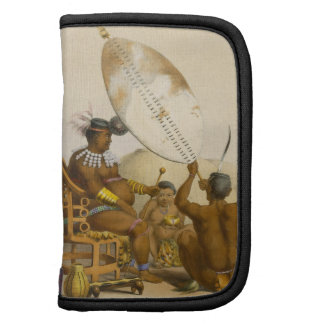 Umpanda the King of the Amazulu, plate 11 from 'Th Folio Planner