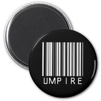 Umpire Bar Code Refrigerator Magnet