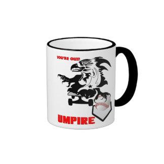Umpire-Baseball-logo-1 Taza De Dos Colores
