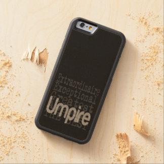 Umpire Extraordinaire Carved Maple iPhone 6 Bumper Case