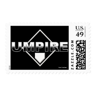 Umpire Postage Stamp
