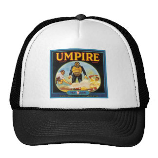 Umpire Vintage Citrus Label Trucker Hat