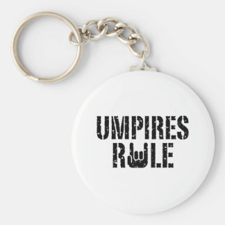 Umpires Rule Key Chain