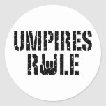 Umpires Rule Sticker