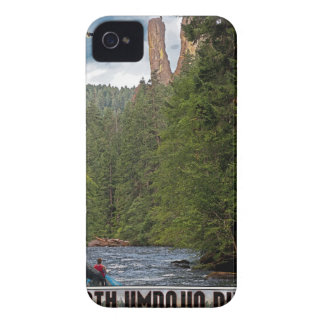 Umpqua del norte - roca del viejo hombre iPhone 4 cárcasas