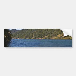 Umpqua River at Brandy Bar Car Bumper Sticker