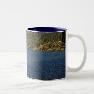 Umpqua River at Brandy Bar Two-Tone Coffee Mug