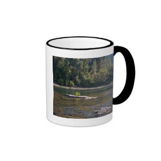 Umpqua River, Oregon Ringer Coffee Mug