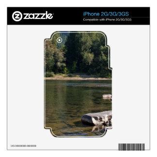 Umpqua River Oregon Decals For iPhone 3G