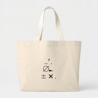Ums Ers Ahs Signature Large Tote Bag