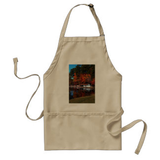 Umstead Boat Dock in Autumn Apron