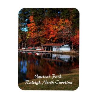 Umstead Park Autumn Lake Magnet