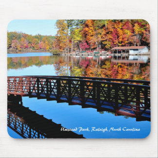 Umstead Park in Autumn Mousepad