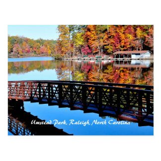 Umstead Park in Autumn Postcard