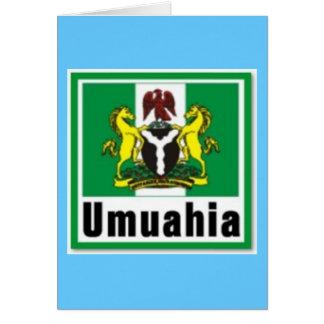 """UMUAHIA"",ABIA STATE, NIGERIA(T-Shirt And etc) Greeting Card"