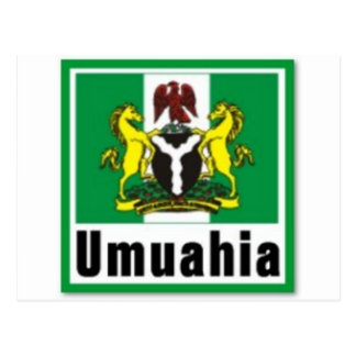 """UMUAHIA"",ABIA STATE, NIGERIA(T-Shirt And etc) Postcard"