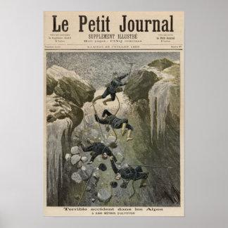 Un accidente terrible en las montañas posters