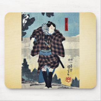 Un actor como Yoji del ya de Tama por Utagawa Kun Alfombrillas De Raton