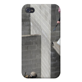 Un agresor del infante de marina y del enemigo de iPhone 4/4S carcasa