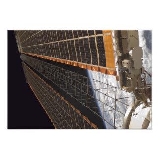 Un ala del arsenal solar arte con fotos