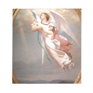 Un alma llevada por un ángel por Jean-León Gerome Bloc